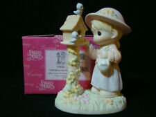 Precious Moments-I Will Always Care For You-Girl/Birdhouse-So Cute