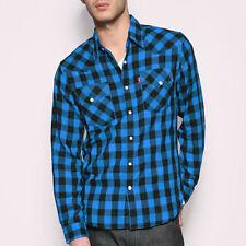 V Neck Long Sleeve Striped Regular Size T-Shirts for Men