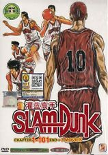 DVD Slam Dunk Complete DVD series Vol 1-101 end + 3Movie (5 Disc0 +Free1AnimeDVD