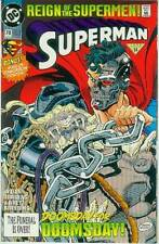 Superman (2nd series) # 78 (bound-en Man of Steel póster) (Estados Unidos, 1993)