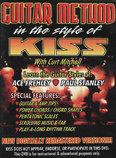 NEW Guitar Method In The Style Of KISS DVD Curt Mitchell Instructional Lesson