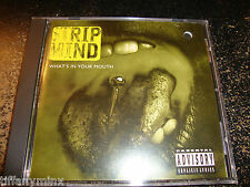 STRIP MIND godsmack cd WHAT'S IN YOUR MOUTH free us ship