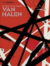 Van Halen The Best of Both Worlds Sheet Music Guitar Tablature Book NE 000700100
