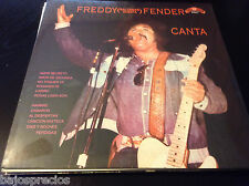 RARE salsa LP FREDDY FENDER-Baldemar Huerta- HAMBRE camaron AL DESPERTAR cariño