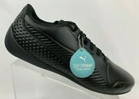 Puma Mens Drift Cat 7 Ultra Sneakers Black Round Toe Lace Up 339862 01 Size 13