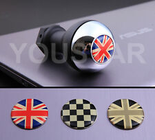 UK STOCK CHROME WEIGHTED Gear Knob MINI Cooper R50 R53 R56 Countryman Union Jack