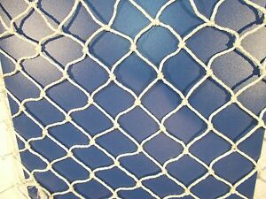 Natural Net Netting Heavy Duty Strong 2mm Cord Cargo Bird Pond Protection Decor