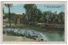 De Land, Florida,  Early View of The Old Mill at De Leon Springs