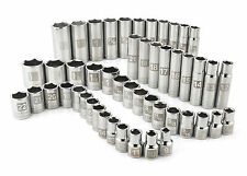 Craftsman 49 pc. Easy to Read Socket Set, 6 pt. Std. and Deep, 1/2 in. Dr. F