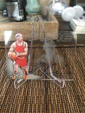 2014 Leaf Q Pure Glass Dennis Rodman Auto Chicago Bulls