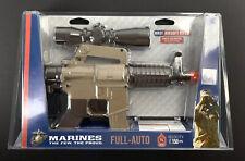Marine Air Soft Rifle M4 BB Fully Automatic Gun  Electric Powered - New!
