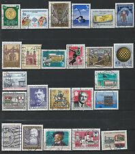 Autriche Lot 24 timbres Obl (FU) 1985 - 86 (lot 6)