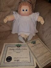Cabbage Patch Kids Soft Sculpture Xavier Roberts Daddys Darling Princess 1984