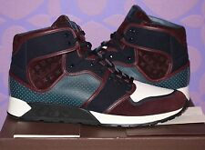 LOUIS VUITTON Upside Down Patchwork Monogram Sneaker Boot Sz 12/13.5 US *LIMITED