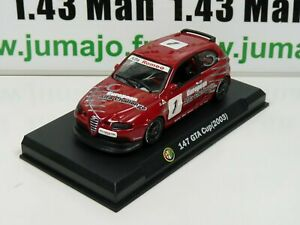 IT87 Voiture 1/43 Hachette ALFA ROMEO collection : 147 GTA Cup 2003