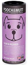 Pooch & mutt calme et détendue main-baked friandises pour chiens 125g