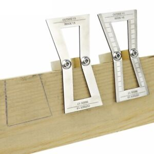 Dovetail Marker 1:5/1:6/1:7/1:8 Template Dovetail Marking Guide Wood Joint Gauge