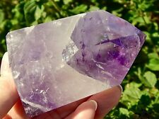 Amethyst DOW Master Quartz Crystal develops Intuition, Inspiration, and Healing