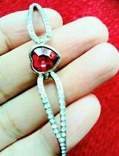 Pink Heart Crystal Diamante Rhinestone Silver Bracelet Bangle Prom Ladies Gift