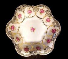 Antique Victorian CT Carl Tielsch Centerpiece Fruit Bowl Silesia Germany 1875-99