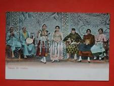 EGITTO Danse de Ventre Danza del ventre raqs al sharqi belly dance old postcard