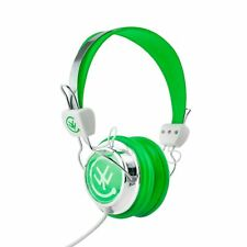 Urbanz TALKZ Kids Headphones DJ Style Headset for Tablet & Phone - Green