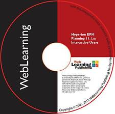 HYPERION EPM Planning 11.1.x for Interactive Users Training Guide