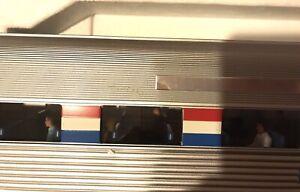 USA TRAINS G SCALE R31072 EXTRUDED ALUMINUM PASSENGER COWCH CAR 5289 NIB