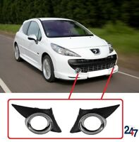 NEW PEUGEOT 207 SPORT 06 - 14 FRONT BUMPER LOWER FOG LIGHT GRILL PAIR RIGHT LEFT