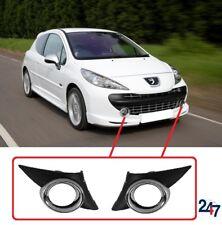 Neuf Peugeot 207 Sport 06 - 14 Pare Choc avant Bas Feu Anti Brouillard Grille