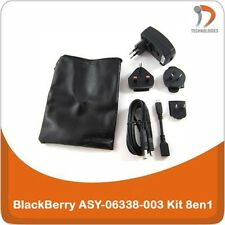 BlackBerry ASY-06338-003 chargeur charger oplader KIt 8in1 Storm Tour Bold Torch