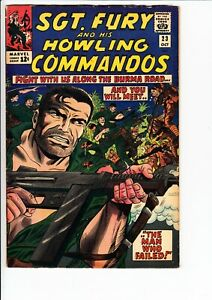 SGT. FURY AND THE HOWLING COMMANDOS #23 (Marvel 1965): Dick Ayers cvr  --  VG/FN