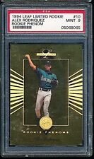 1994 Leaf Limited Rookie Phenoms Alex Rodriguez Rookie RC /5000 PSA 9 MINT