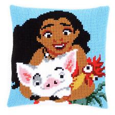 Vervaco - Cross Stitch Cushion Front Kit - Moana - PN-0168026