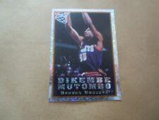Vignette panini - Basketball 95/96 - N°275 - Dikembe Mutombo - Denver Nuggets