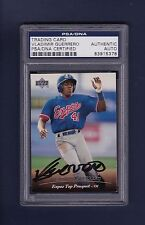 Vladimir Guerrero signed Expos 1994 Upper Deck baseball card Psa/Dna slabbed