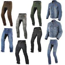 Trilobite Parado Motorrad Jeans Jacke Hose Bekleidung Herren Damen Blau Schwarz