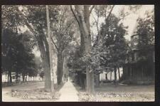 1910s RP POSTCARD SIOUX RAPIDS IA/IOWA LOVERS LANE FAMILY HOUSE HOME