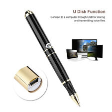 8GB Digital Voice Recorder Pen 28-hour Audio Recording U Disk 64GB TF Card USB