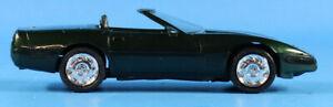 AMT ERTL 1:25 1994 Chevrolet Corvette Convertible Polo Green Built Model #6262