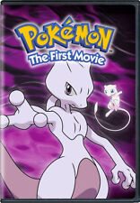 POKEMON THE MOVIE 1: MEWTWO STRIKES BACK - DVD - Region 1