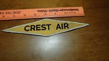 VINTAGE CREST AIR  AIR CONDITIONER HVAC SYSTEM     PATCH BX K #32
