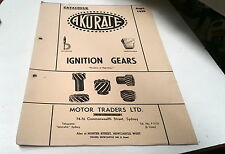 1936 AKURATE  IGNITION GEARS Catalogiue  1920s on