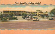 1930s Seacliff Motor Lodge Coast Highway California roadside MWM postcard 637