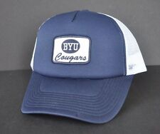 *BRIGHAM YOUNG UNIVERSITY COUGARS* Trucker mesh Ball cap hat snapback *OURAY*