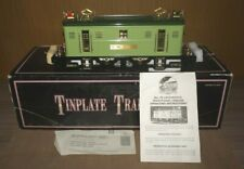 MTH TINPLATE 10-1066-0 TRADITIONAL VERSION 9E 2-TONE GREEN LOCOMOTIVE WITH OB