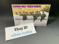 DRAGON 6671 1/35 German Half-Track Riders (10 Figures Set)