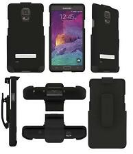 OEM Seidio Surface Combo Holster Case Cover For Samsung Galaxy Note 4 IV Black