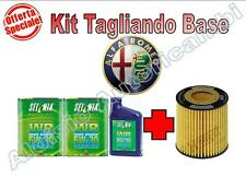 KIT TAGLIANDO BASE OLIO + FILTRO OLIO ALFA 159 1.9 JTD 150CV DAL 2005 --> *