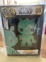 Funko Pop Pin Chase Greedo Star Wars #05 All Green